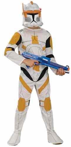 Commander Cody Star Wars Clone Trooper Fancy Dress Up Halloween Child Costume