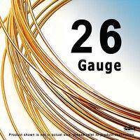 10 Feet 26 Gauge 14k Rose (pink) Gold Filled Gf Round Wire Half Hard Hh