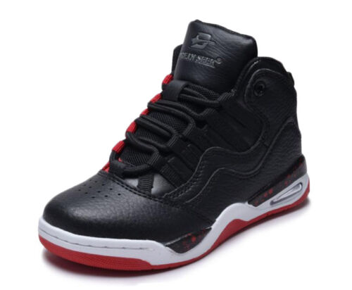 Boys Girls High Top Sneakers Tennis Shoes Basketball Youth Kids Athletic New