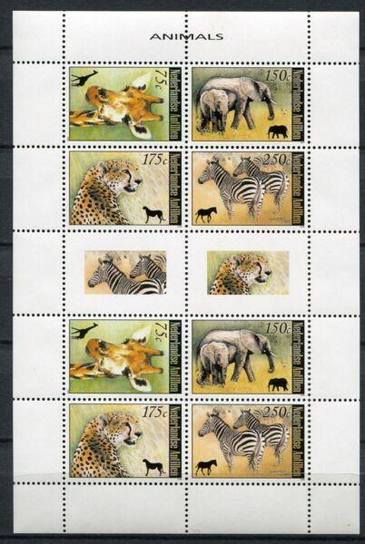 100% De Qualité Antilles Néerlandaises 2008 Girafe Eléphant Zèbre Léopard Ko 1665-1668 Neuf Sans Charnière-e Antillen 2008 Giraffe Elefant Zebra Leopard Kb 1665-1668 Mnh Paquet éLéGant Et Robuste