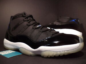 finest selection 663fb 2d512 Image is loading 09-NIKE-AIR-JORDAN-XI-11-RETRO-SPACE-