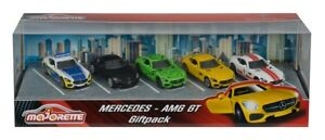 Majorette 212053163 - Mercedes-Benz Amg Gt Giftset 5 Fahrzeuge - Neu