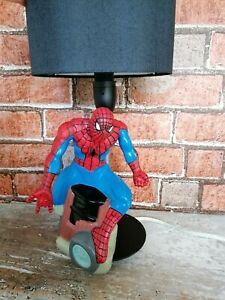 Superheroes table lamp Spiderman unique child's bedside night light