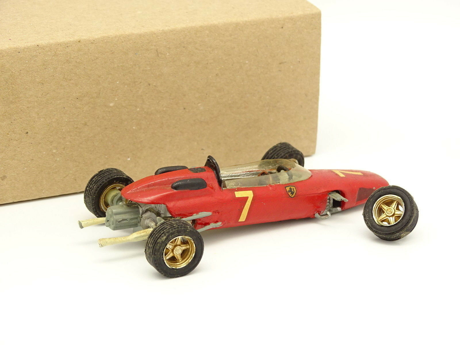 John Day Set Metall Aufgebaut Aufgebaut Aufgebaut 1 43 - Ferrari 158 F1 069936
