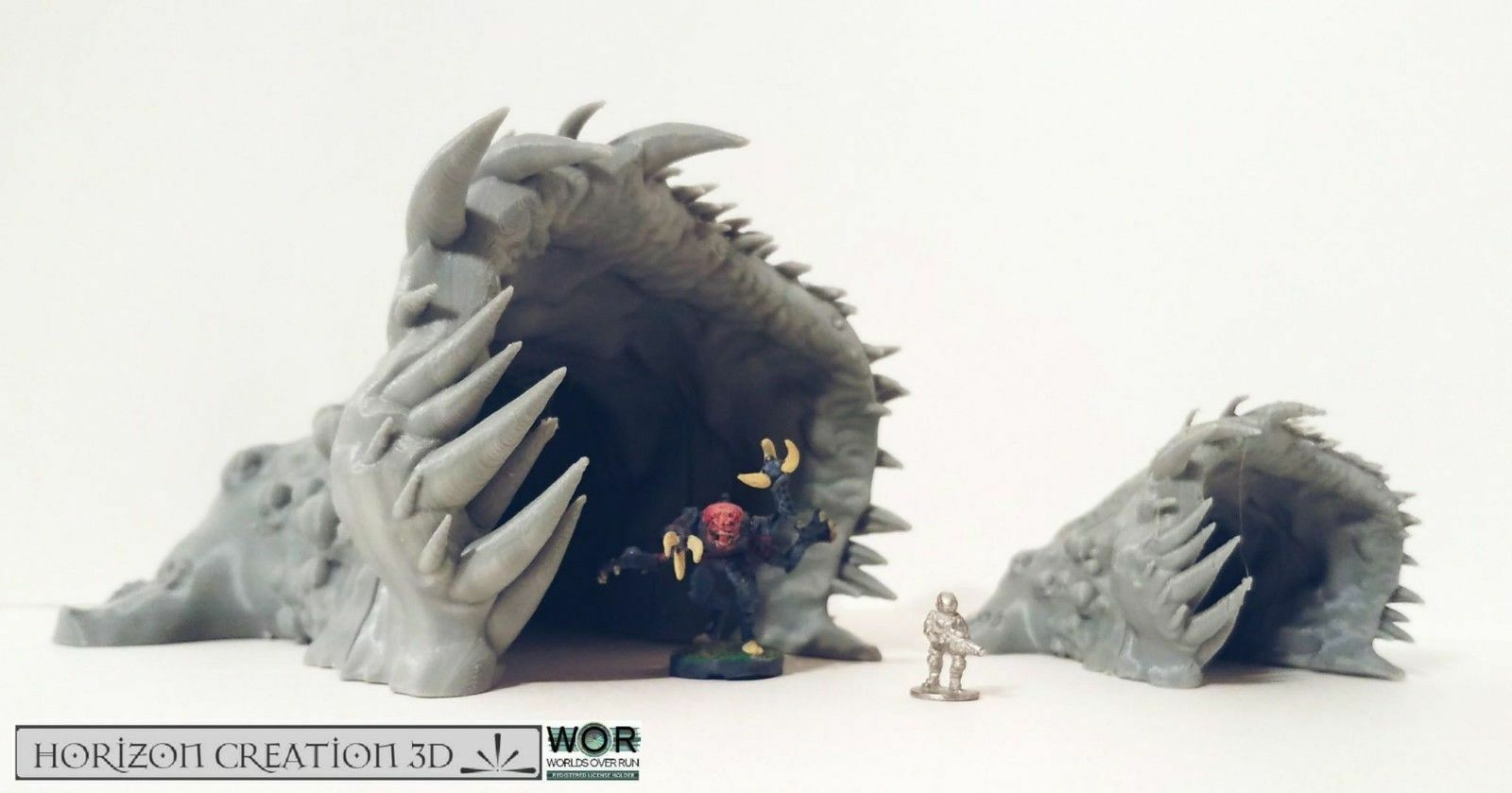 Hc3d - wor thorn portal - alien wargames miniaturen landschaft treten 2008 15