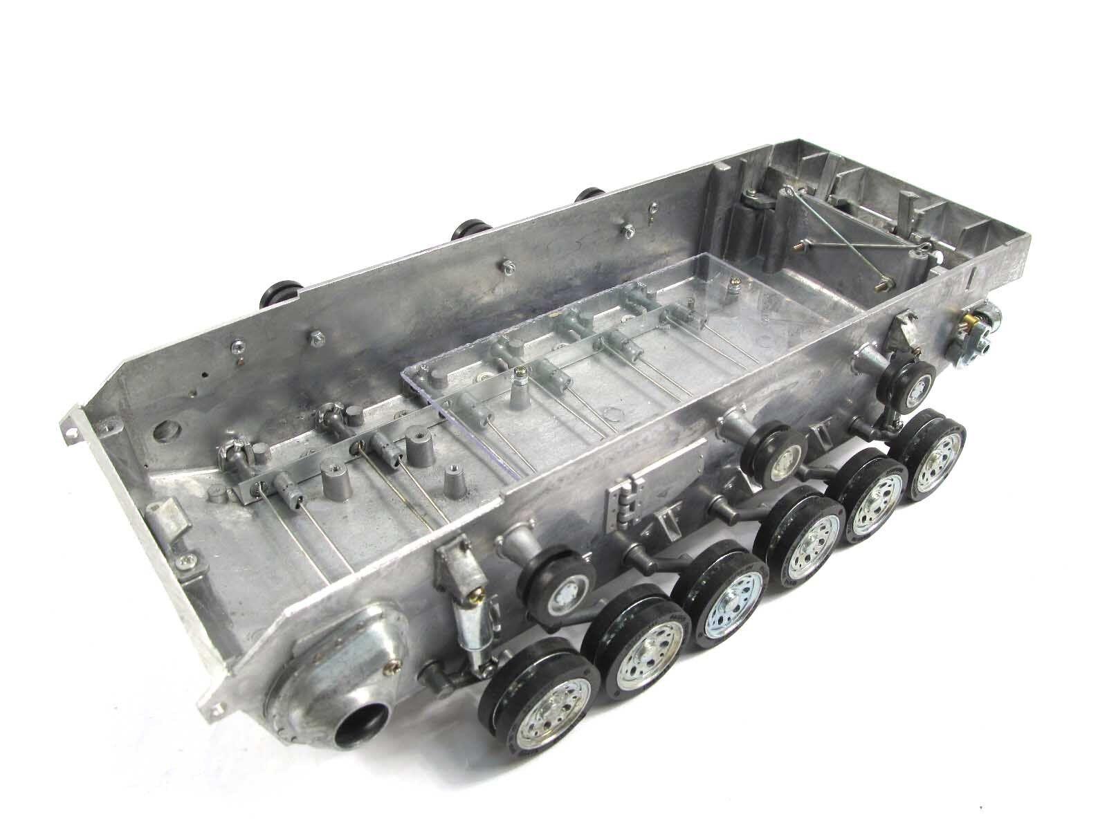 Mato 1 16 Stug III RC Tank Metal  Chassis Torsion Bar Suspension stradaruedas MT111  risposta prima volta