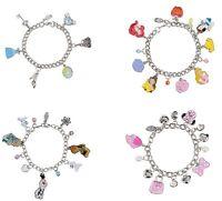Disney Store Girls Charm Bracelet Princess U Choose One Size