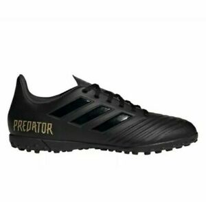 NEW-Adidas-Predator-19-4-TF-Turf-Soccer-Shoes-Cleats-Black-F35635-Men-039-s-Size-11