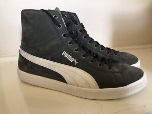 Puma-Lite-En-Daim-Classique-Homme-Hi-Top-Sport-Casual-Retro-Baskets-Taille-UK-11