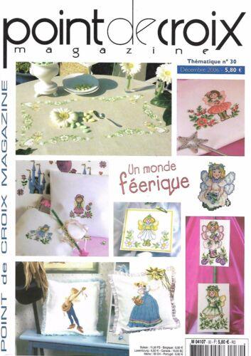 Magazine point de croix Broderie Livre Revue Modèle Grille Motif Diagramme