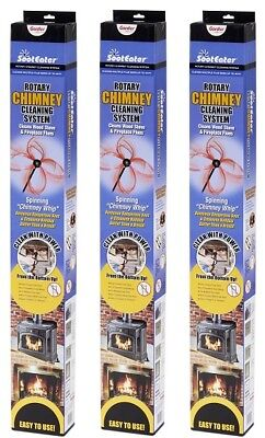 GARDUS SootEater Rotary Chimney Cleaning System #RCH205 BRAND NEW!