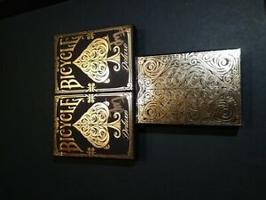 Deluxe-Bicycle-Playing-Cards-RARE-LIMITED-Set-Elite-Blaine-1st-Fontaine-NOC
