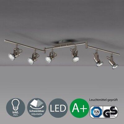 LED Deckenleuchte 6-flammig Decken-Strahler Lampe modern Spot-Leuchte Spotlights