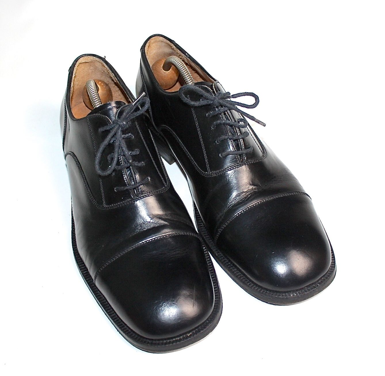 Melvin & Hamilton! caballero zapatos cuero 45 zapato bajo ejecutivo Black #930 93017#