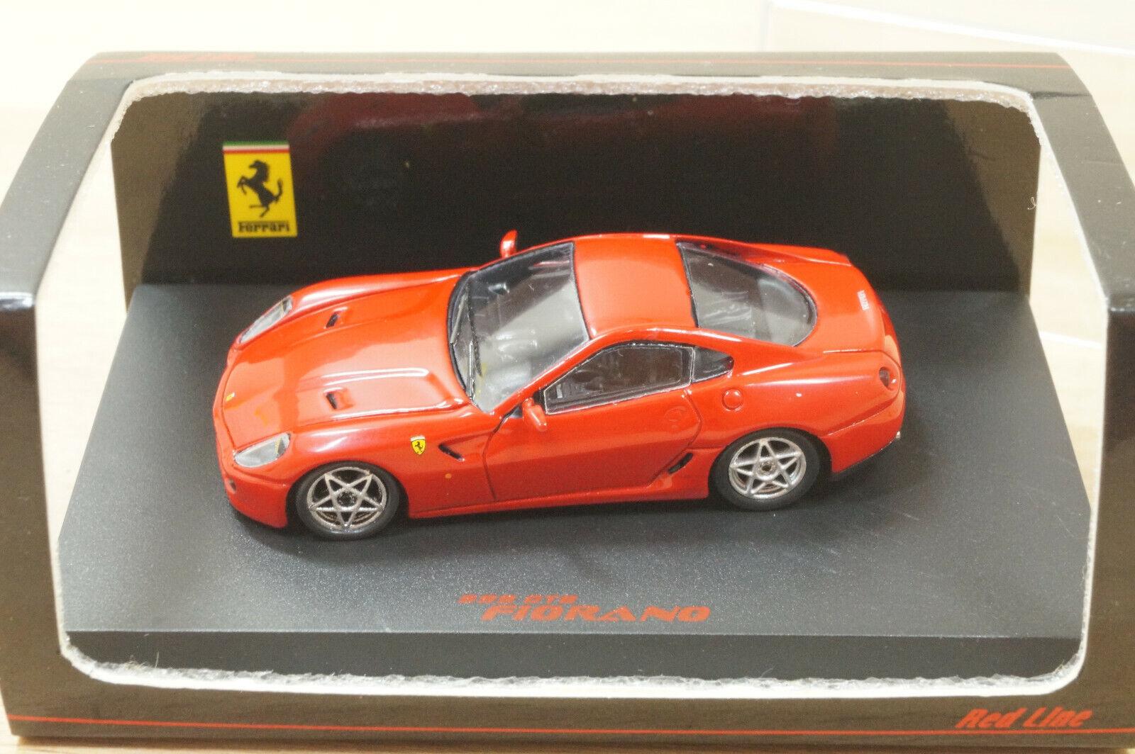 Red LINE 87rl019 FERRARI 599 GTB Fiorano in Rosso da 2008 NUOVI IN SCATOLA ORIGINALE RARO