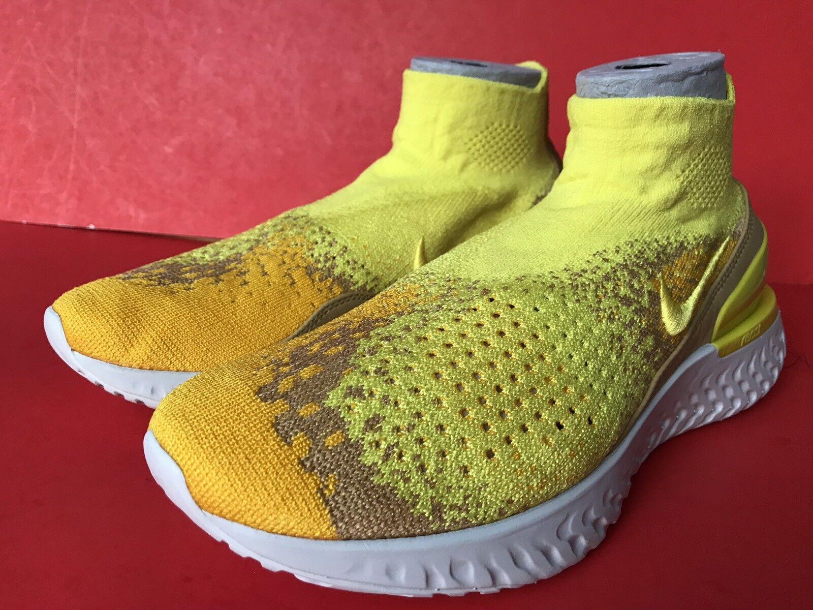 Nike Rise React Flyknit Limited BQ6176 707 707 707 Größe 13  Men 950877