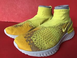 29e15659c5617 Image is loading Nike-Rise-React-Flyknit-Limited-BQ6176-707-Size-