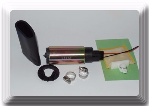 OE Spec E02068 Electrical Fuel Pump In-Tank With Strainer /& Install Kits