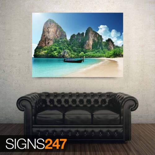 Photo Picture Poster Print Art A0 A1 A2 A3 A4 BEACH AD926 NATURE POSTER