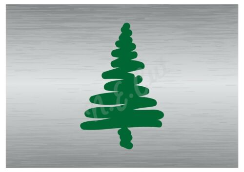 Christmas Tree stencil A5 A4 A3 A2 A1 A0 14cm to 1.2 meters or bigger CMAS030