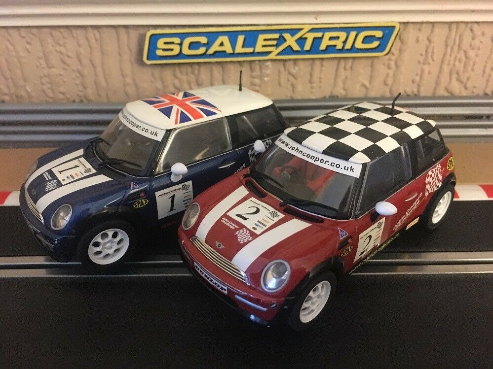 Scalextric John Cooper Challenge Minis No1 & No2 Boxed Excellent Condition
