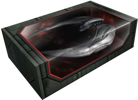 MOEBIUS 1 32 BATTLESTAR GALACTICA CYLON RAIDER FINISHED 2926 MIB NEW