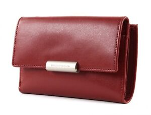 MANDARINA-DUCK-Hera-3-0-Wallet-with-Flap-M-Geldboerse-Red-Rot-Neu
