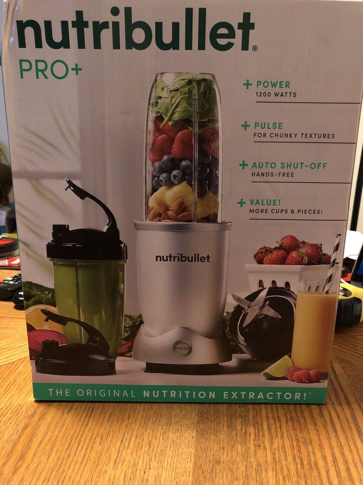 Nutribullet N12 1001 Pro Plus 1200w Nutrition Extractor Blender For Sale Online Ebay