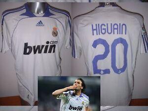 d20286ab873 Real Madrid HIGUAIN Adidas Adult L Shirt Jersey Football Soccer ...