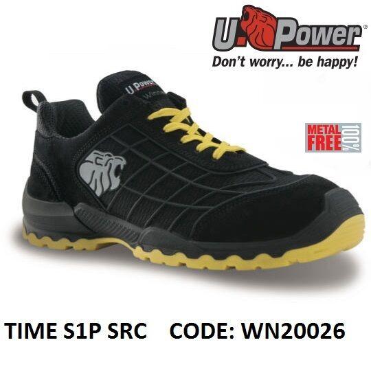 in vendita UPOWER SCARPE DA LAVoro BASSA ANTINFORTUNISTICA TIME S1P SRC SRC SRC U-POWER WN20026 -  designer online