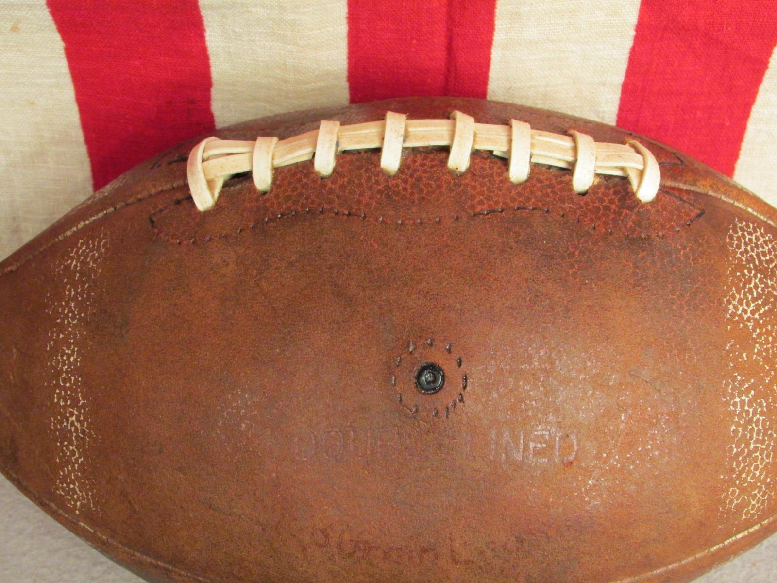 Vintage Reach pelle Calcio W/ Lacci Roger Nice Staubach Modello 108 Cowboys Nice Roger c5ad11