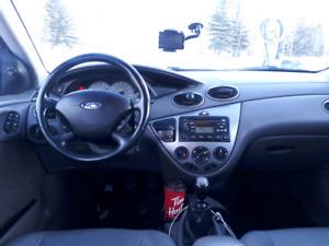 2003 Ford Focus hatchback 5 spd low kms