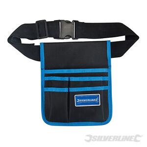 Silverline Werkzeugtasche 18 Fächer Werkzeugkoffer Dachdecker Zimmerer NEU  WT 1