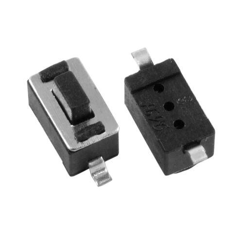 50 un Momentáneo Tact Táctil Botón Interruptor de montaje en superficie SMD SMT 3*6*5mm