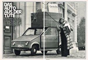 Original Bericht Von 1973 Eine Hohe Bewunderung Gewinnen Berichte & Zeitschriften Aws Automobilwerk Walter Schätzle Shopper Automobilia