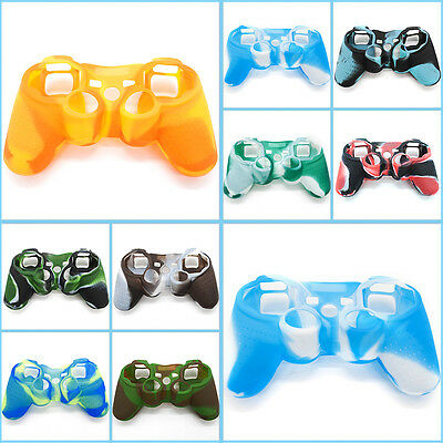 New Silicone Protective Skin Case Cover for Sony PS3 Controller Game Accessories