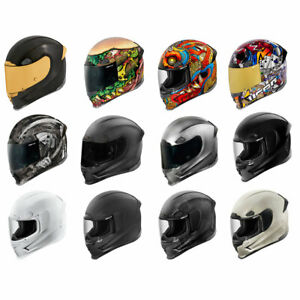 2020 Icon Airframe Pro Full Face DOT Motorcycle Helmet - Pick Size & Color