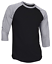 Raglan-Men-039-s-Casual-Baseball-T-Shirt-3-4-Sleeve-Plain-Jersey-Tee-S-2XL thumbnail 7