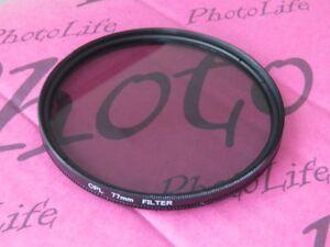 77mm-CPL-Filtro-Ultra-Violeta-Para-Canon-Sony-Nikon-Pentax-Lente-de-Camara-SLR-DSLR