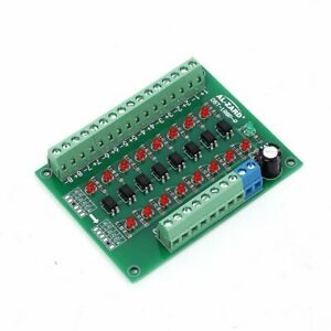 5V-To-24V-8-Channel-Photoelectric-Isolation-Level-Voltage-Converter-PNP-Output