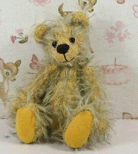 "Very Cute Miniature World Of Bears  Mohair Bear 4"" inches high"