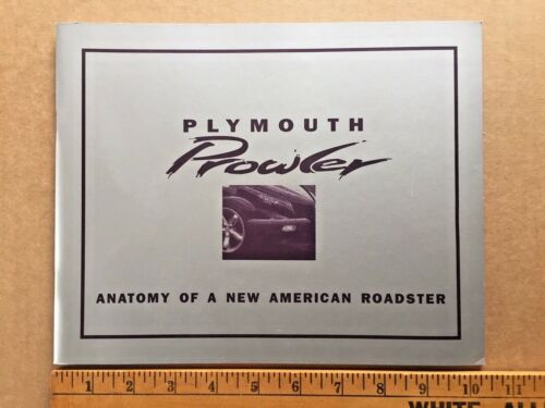 Plymouth Prowler Anatomy Of A New American Roadster 1997 Automobile Quarterly