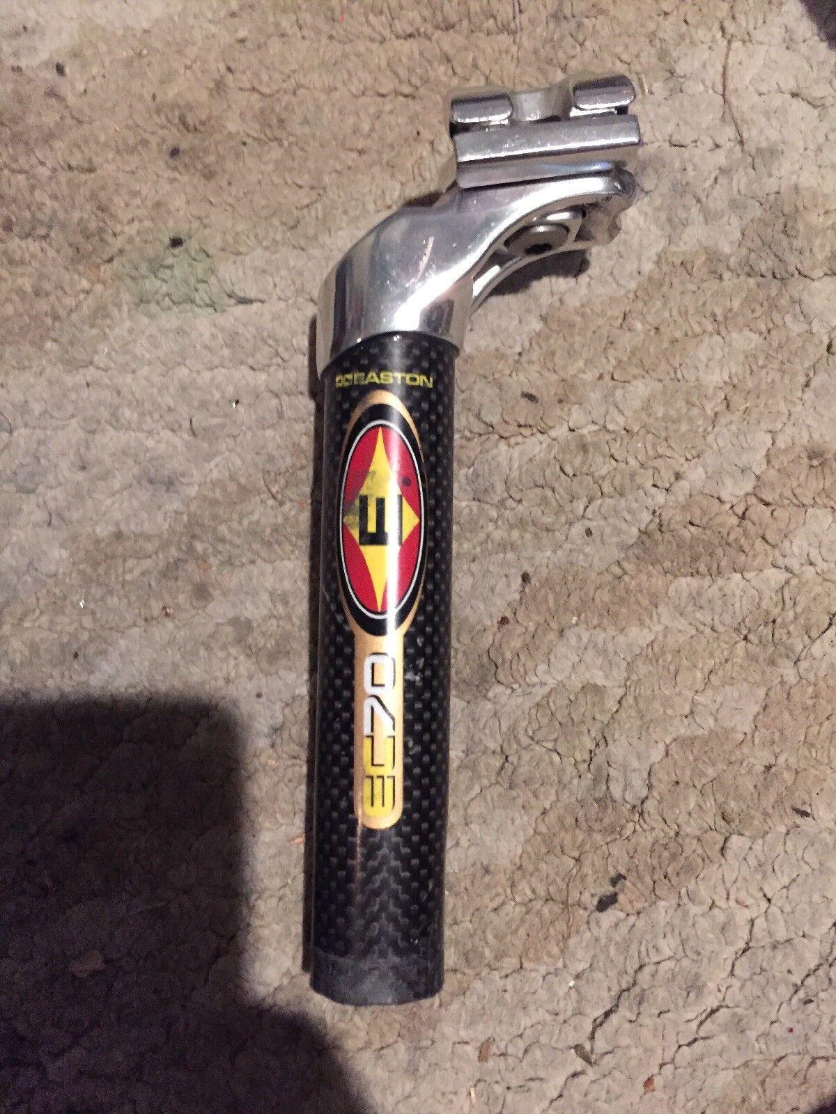 Easton EC70 de fibra de Cochebono tija de sillín 27.2
