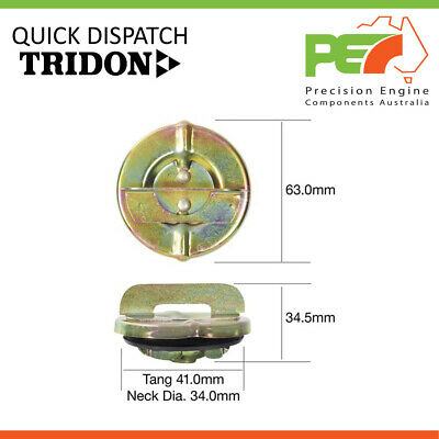 Diesel * TRIDON HDJ78R-Turbo Fuel Cap Locking For Toyota Landcruiser