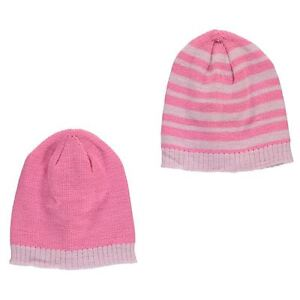 57272231d81 Tick Tock - Baby Girl s Knitted Pink Winter Hats 2-Pack (BNWT ...