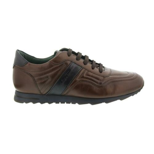 Sneaker A Glattleder Bleu Galizio 310466 Foncé Marron Torresi C7qfw4S