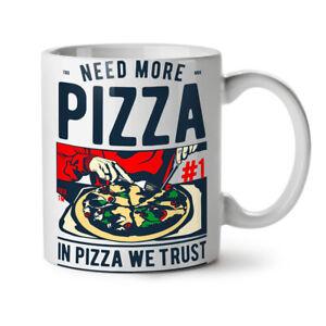 In Pizza We Trust NEW White Tea Coffee Mug 11 oz | Wellcoda