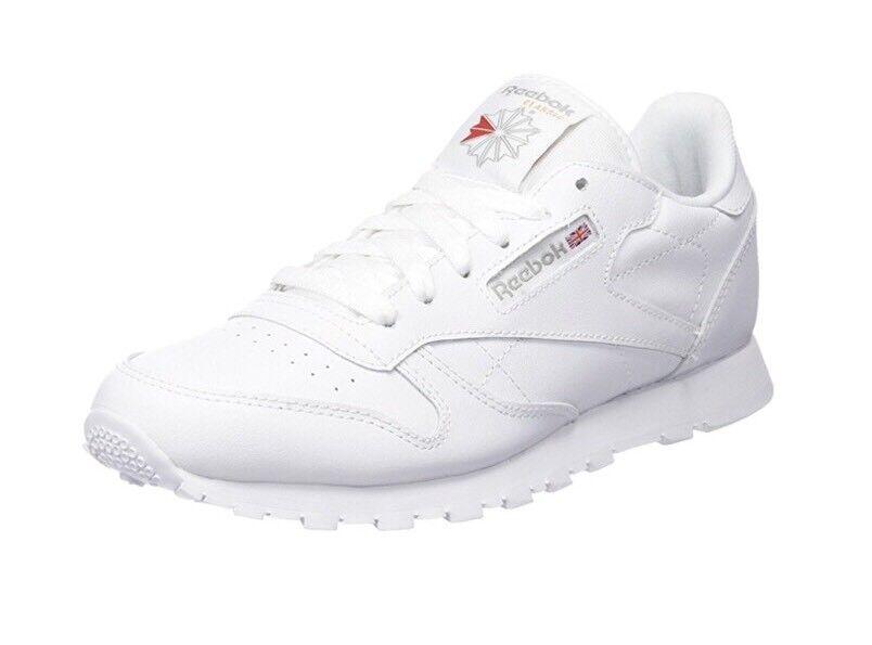 coole Sneaker/Turnschuhe, REEBOK CLASSIC, wie Gr 37,5, weiß, Leder, wie CLASSIC, NEU 4aeb92