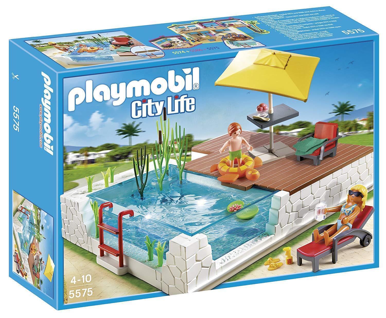 Playmobil Playmobil Playmobil Boite Neuve City Life Terrasse Aménagée Piscine & Accessoires 5575 cfcaf1