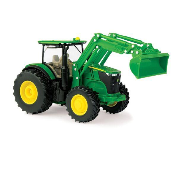 Creativo Nuevo John Deere 7270r Tractor Con Desprendible Cargadora,1/32 ,edad 3+